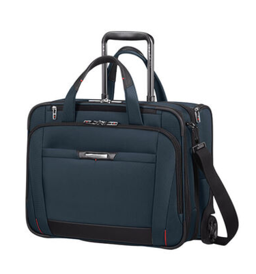 106364 PRO-DLX 5 ROLLING TOTE 15.6 OXFORD BLUE