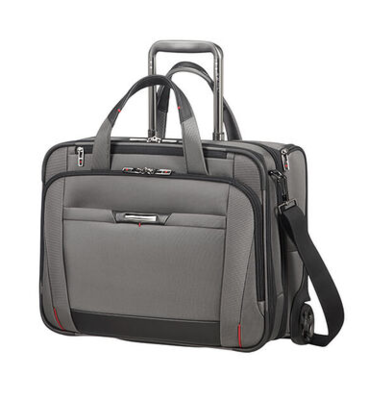 106364 PRO-DLX 5 ROLLING TOTE 15.6 MAGNETIC GREY